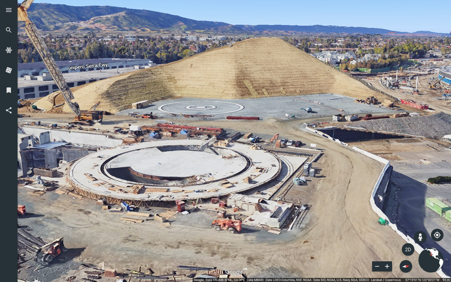 Google Maps gains 3D imagery of Apple Park