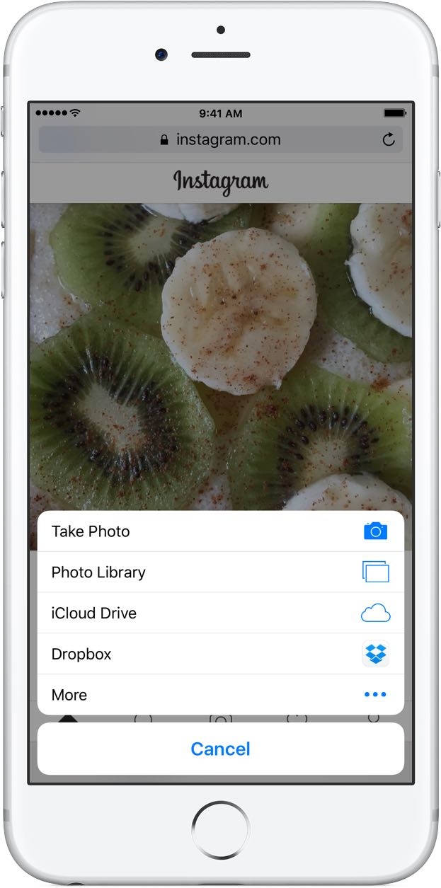 How To Post Images To Instagram Via Mobile Web