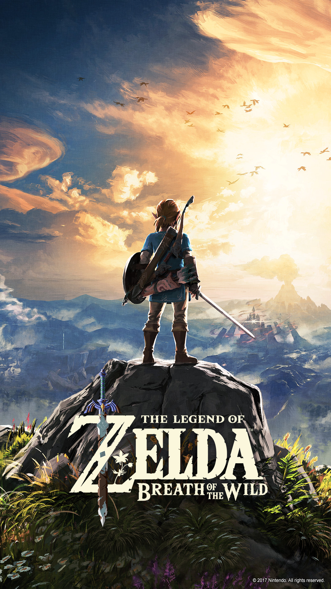 Legend of Zelda Breath of the Wild iPhone wallpapers