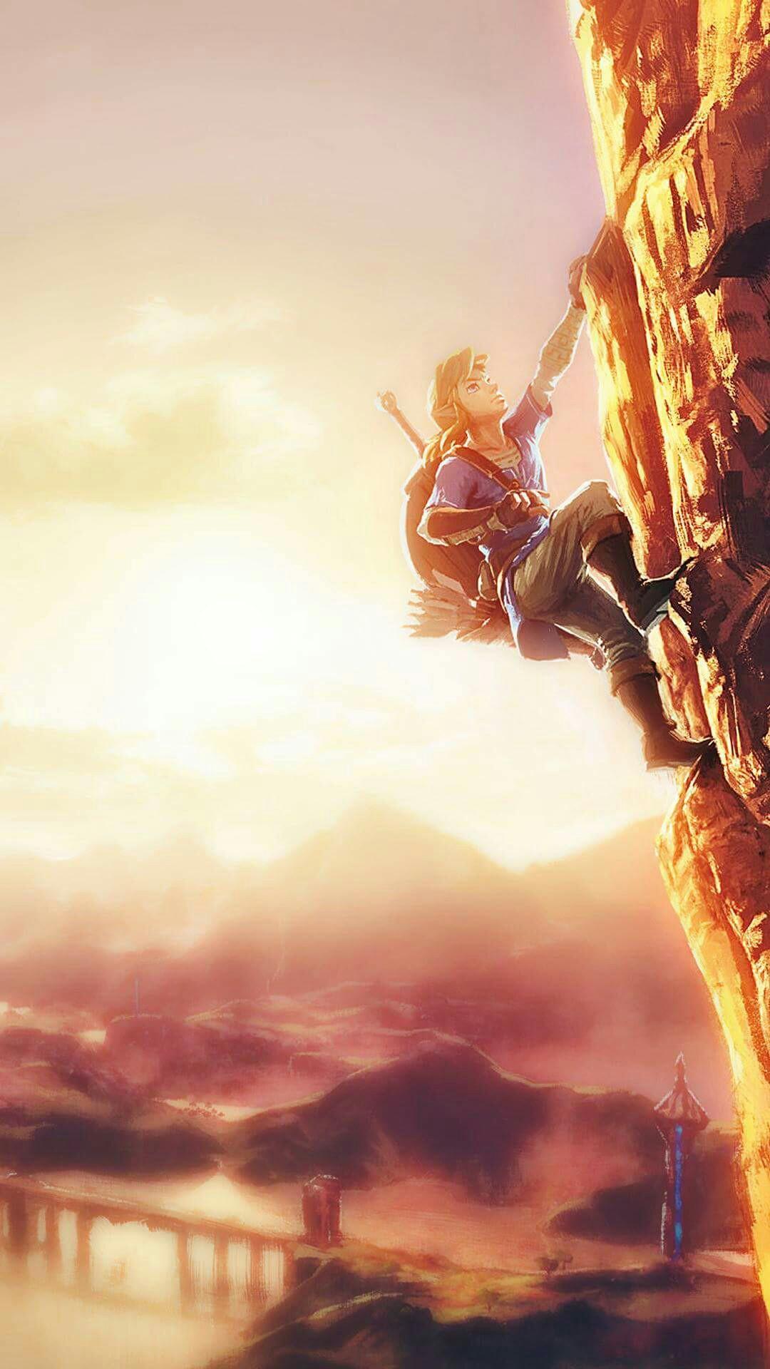 Legend Of Zelda Breath Of The Wild Iphone Wallpapers
