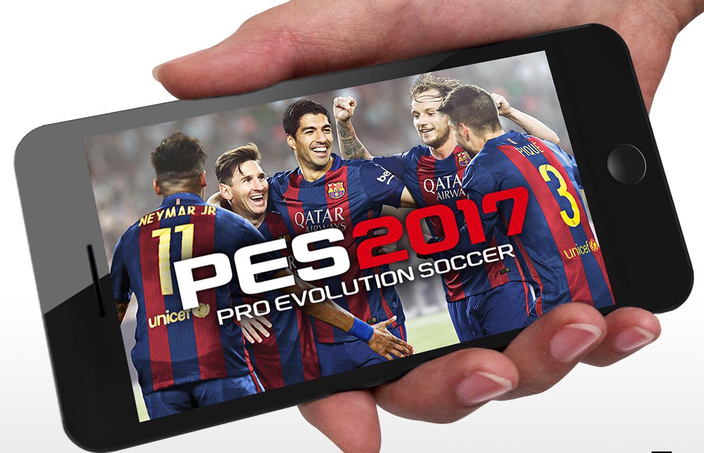 At long last, Konami's Pro Evolution Soccer 2017 hits App Store