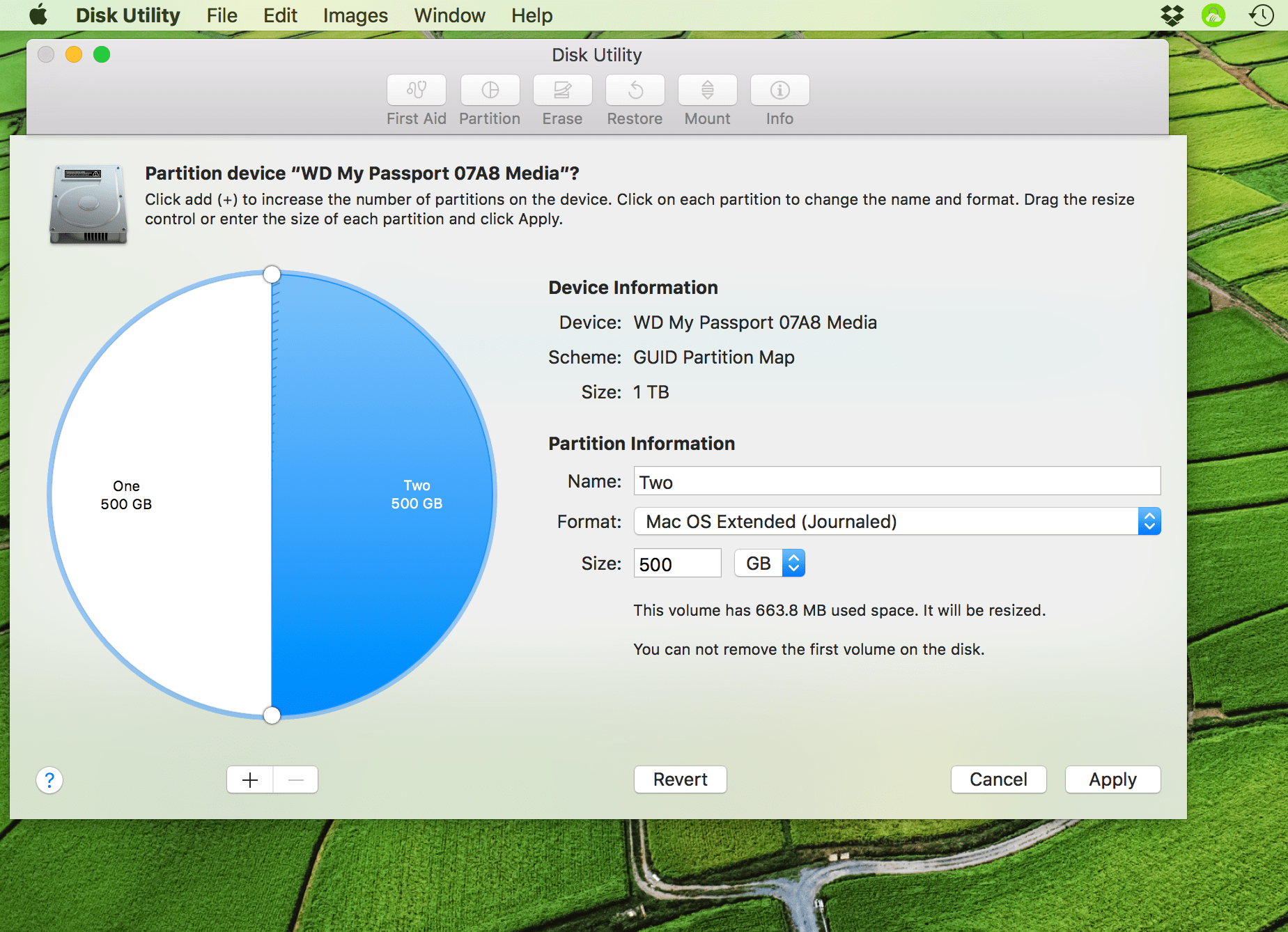 create disk partition mac