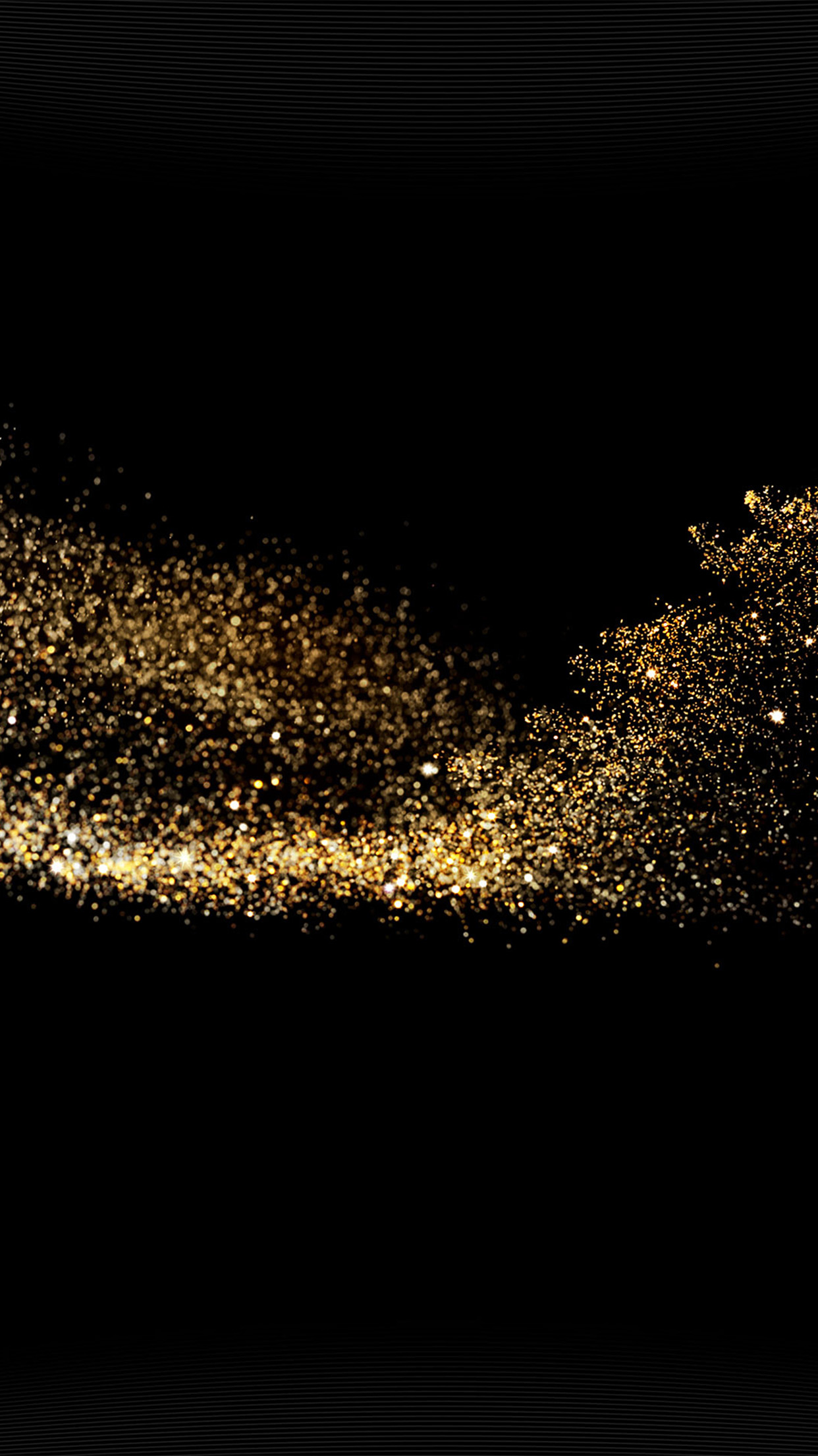 Gold Glitter Texture On Black Background, Golden, Glitter ...