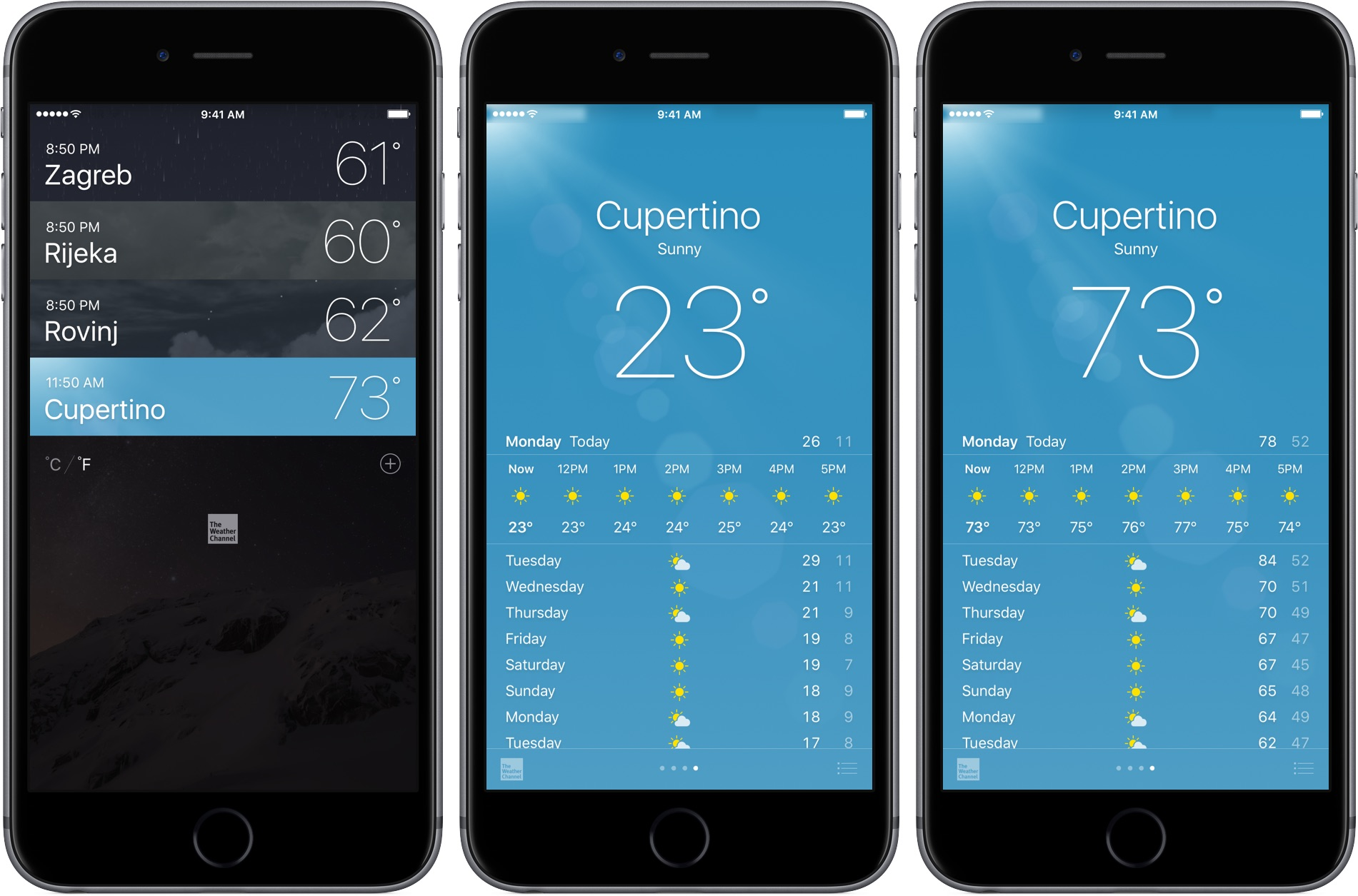 iphone weather app settings how to switch between celsius and fahrenheit on your apple 9819