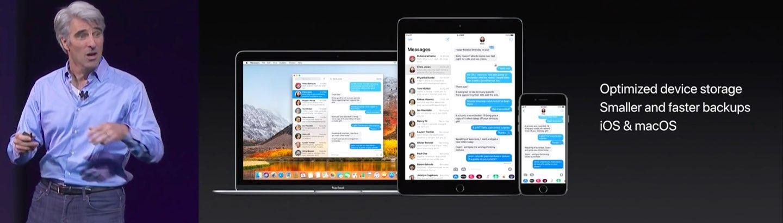 Beneficios de sincronización de iCloud de Apple Messages