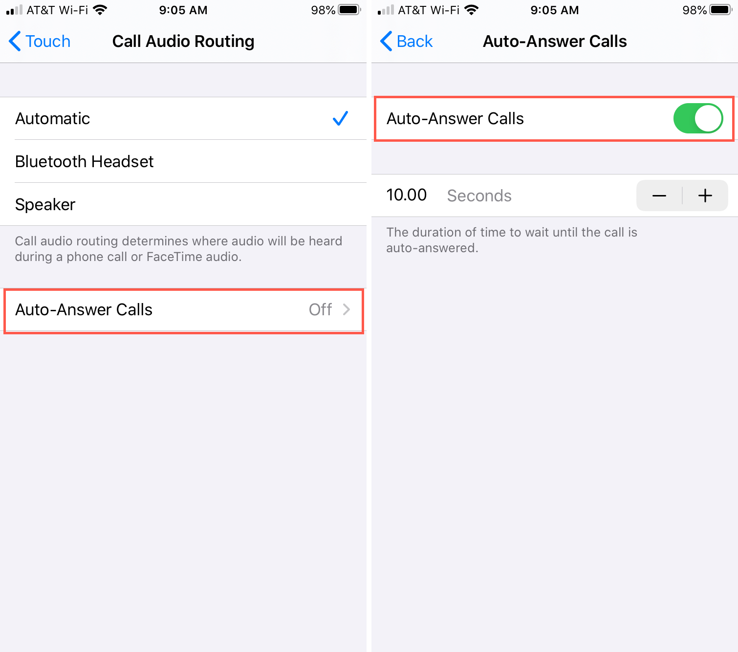 Auto Answer Call Routing iPhone - Updated