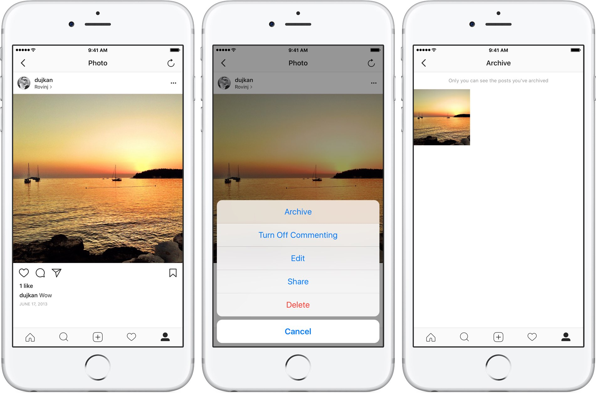 How to archive Instagram posts so that no one can see them on your profile 2a1801445
