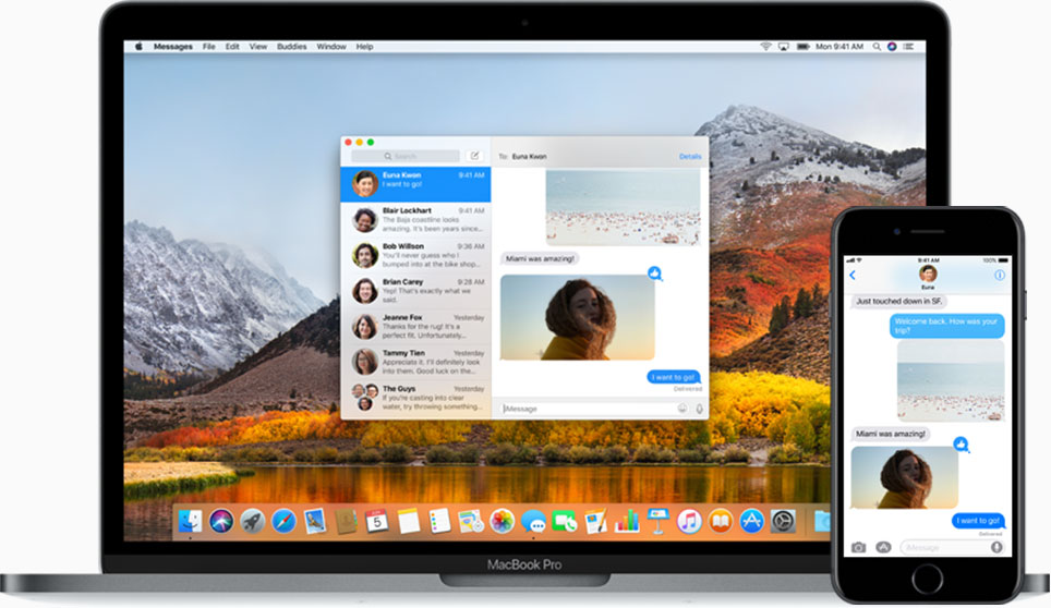 Apple Messages iCloud sync