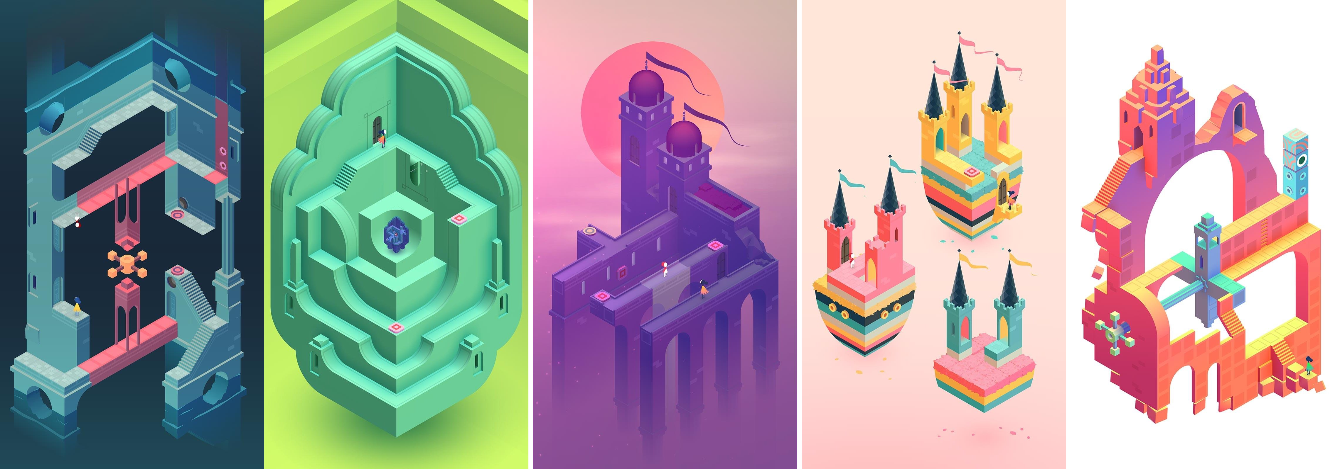 Monument Valley screenshots