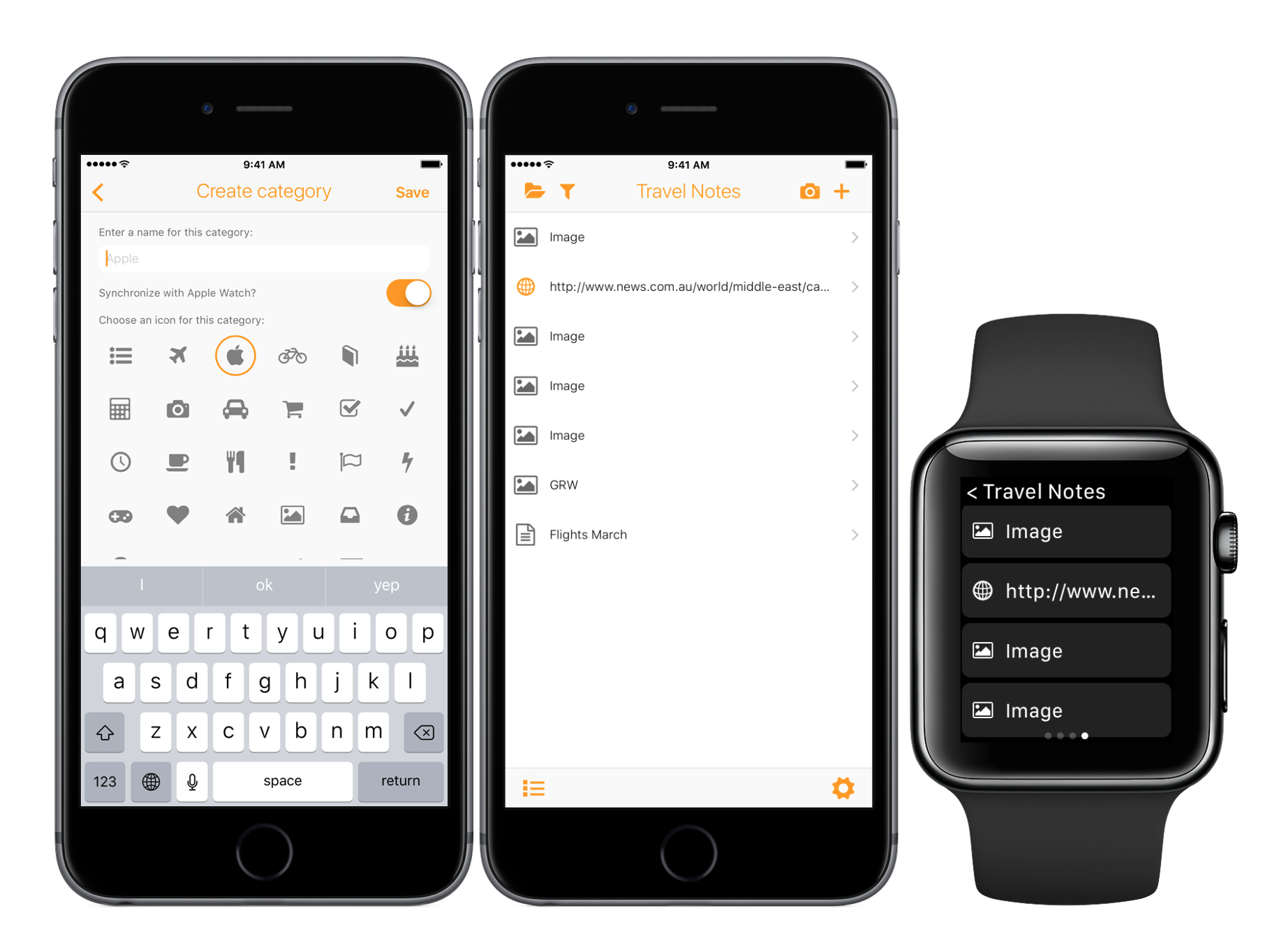 Take notes on the fly with Apple Watch and SnipNotes