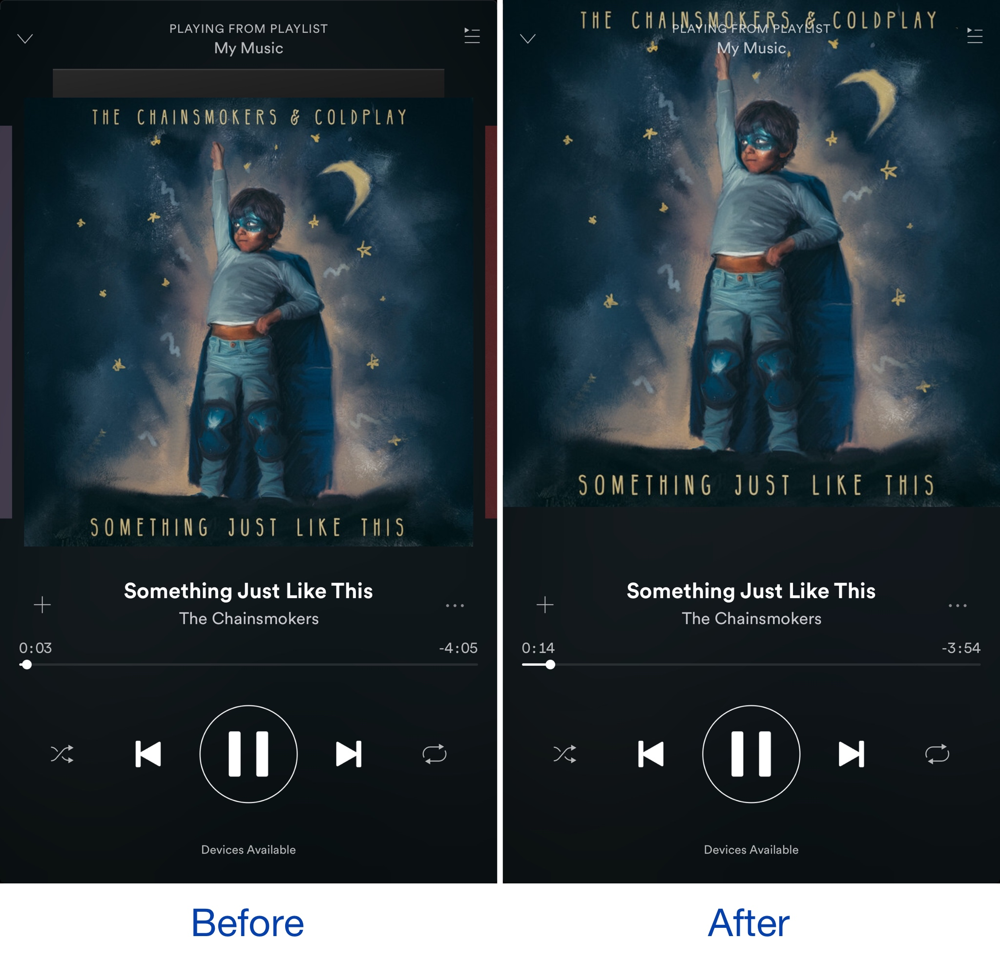 how to get album artwork on iphone