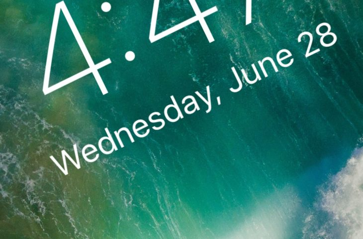 TimeMover Lite lets you customize the position of your Lock screen