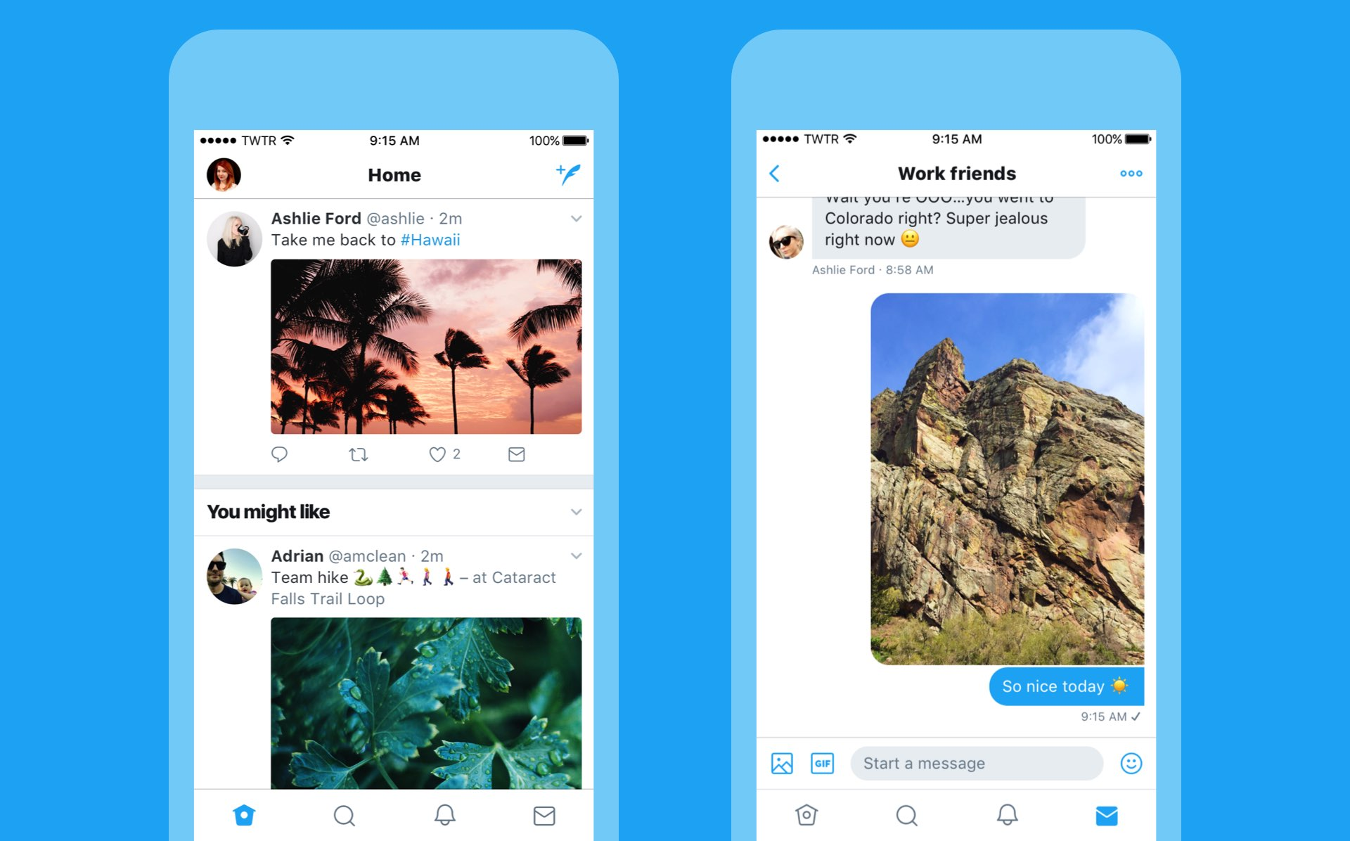 Twitter revamped with dynamically updated Reply/Like/Retweet counts