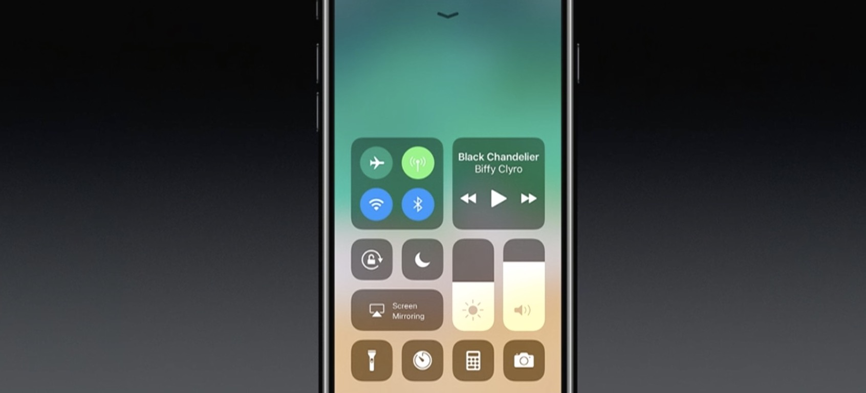 Apple clarifies why iOS 11 Control Center toggles don't
