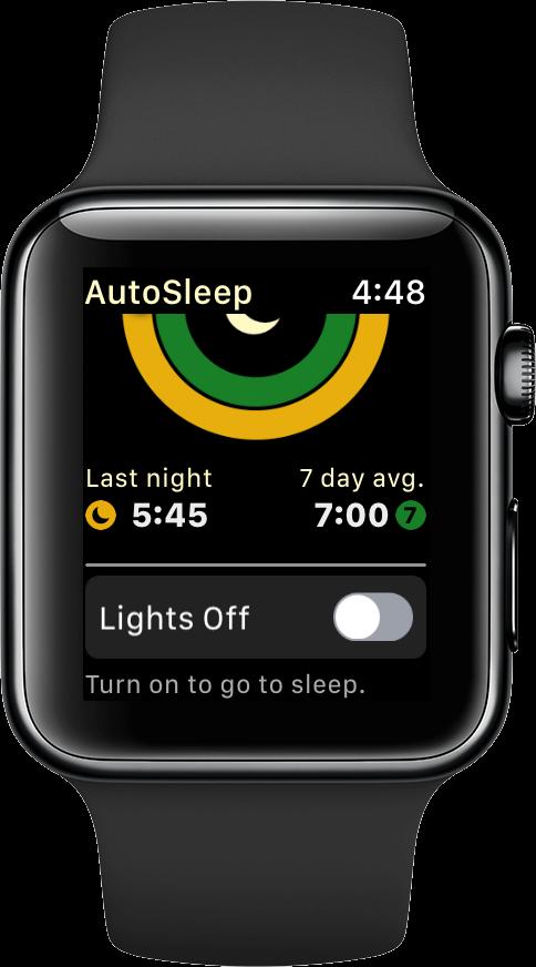 track sleep apple watch