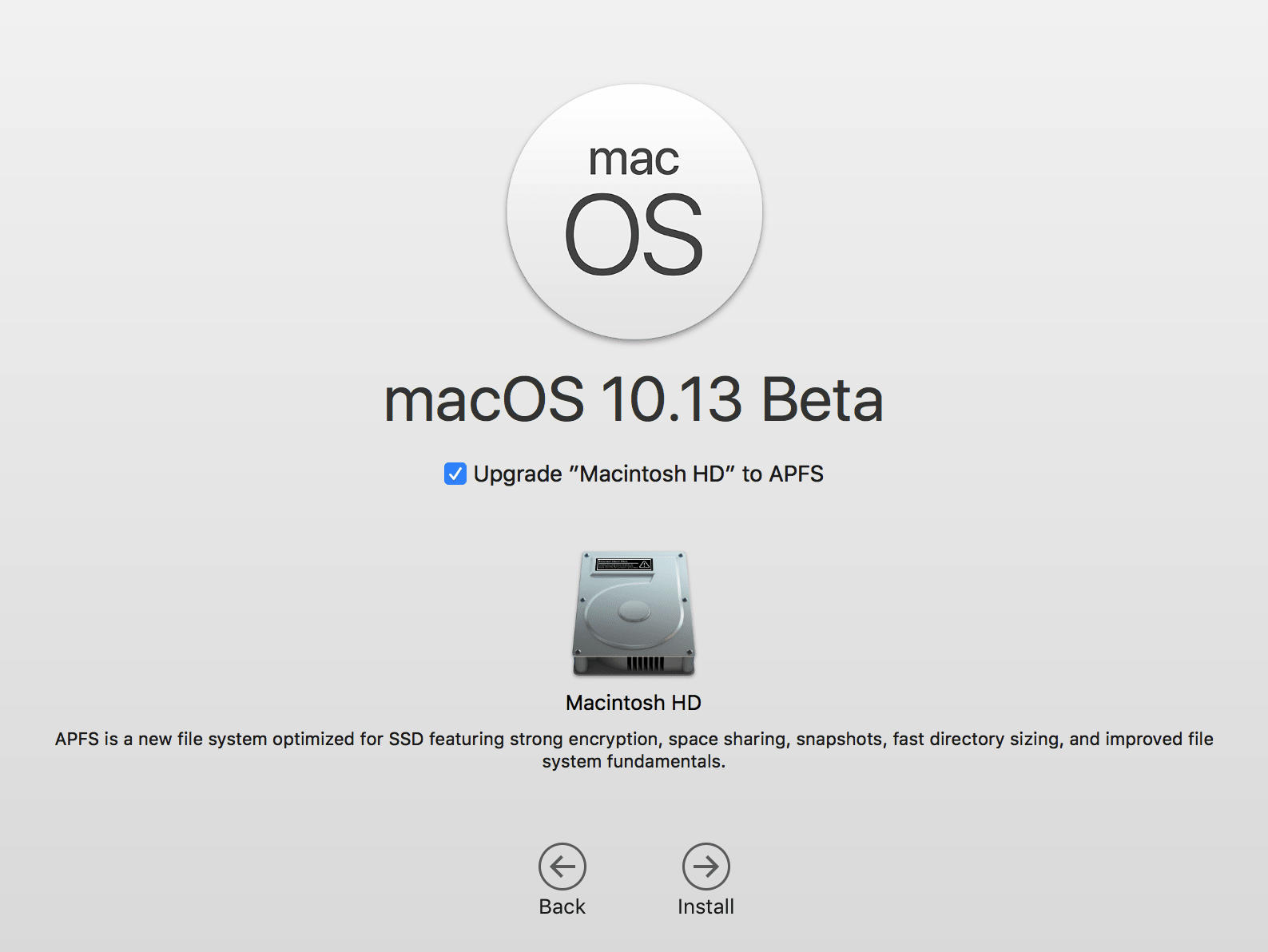 How to downgrade from macOS High Sierra beta to the standard