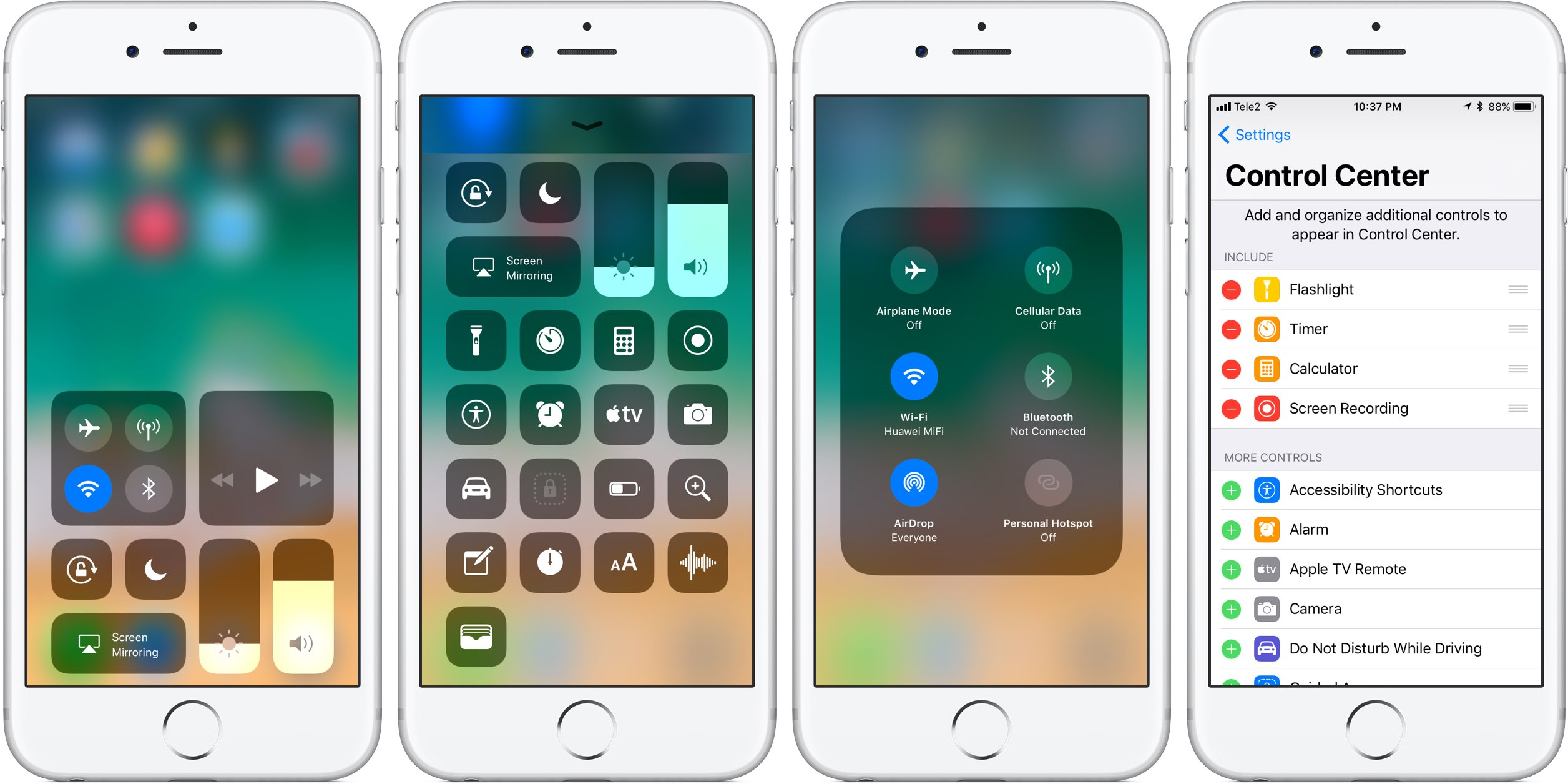 sports shoes 58ffb 8eeeb Hands-on with iOS 11's highly customizable Control Center