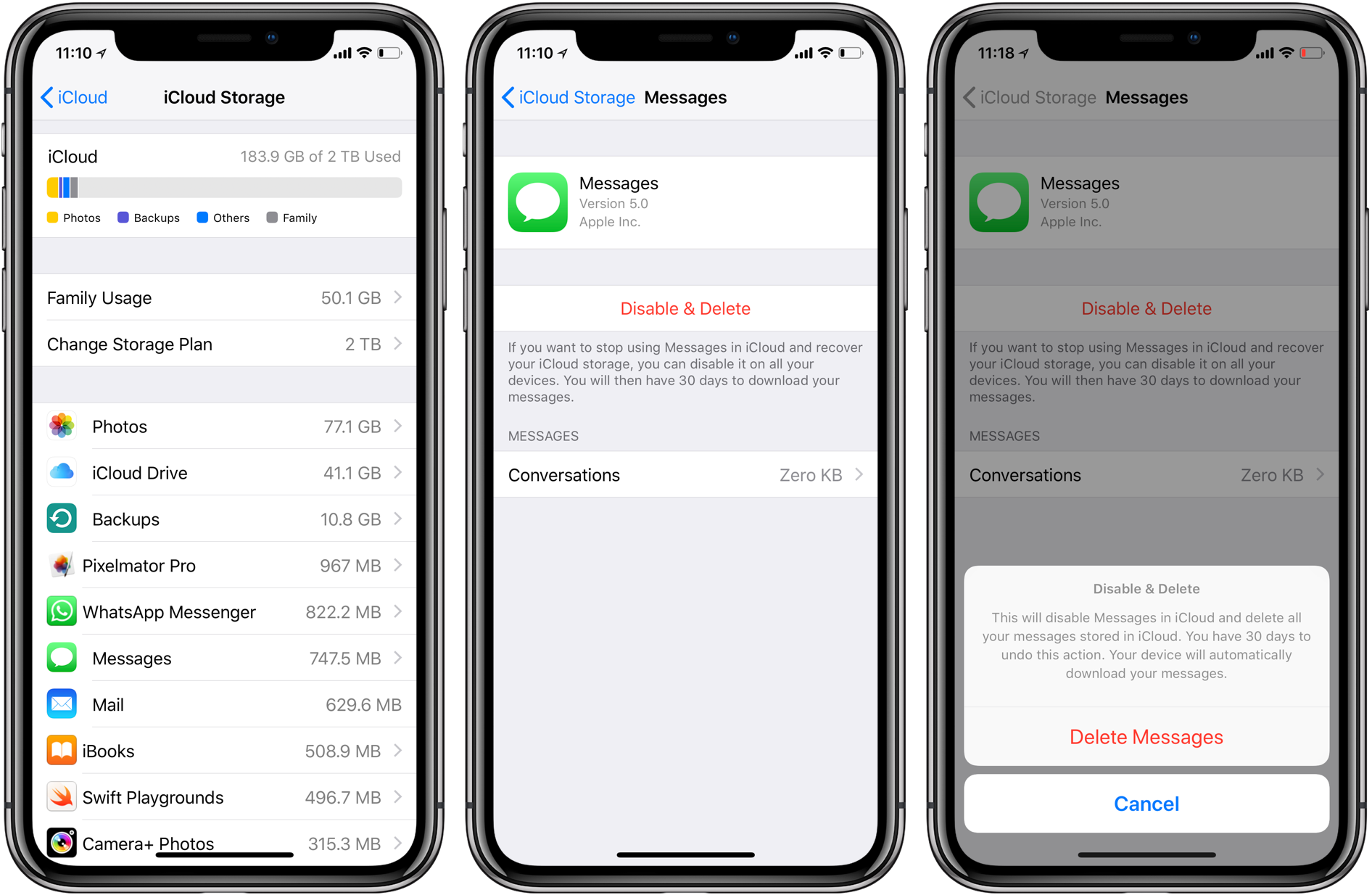 How to use Messages in iCloud
