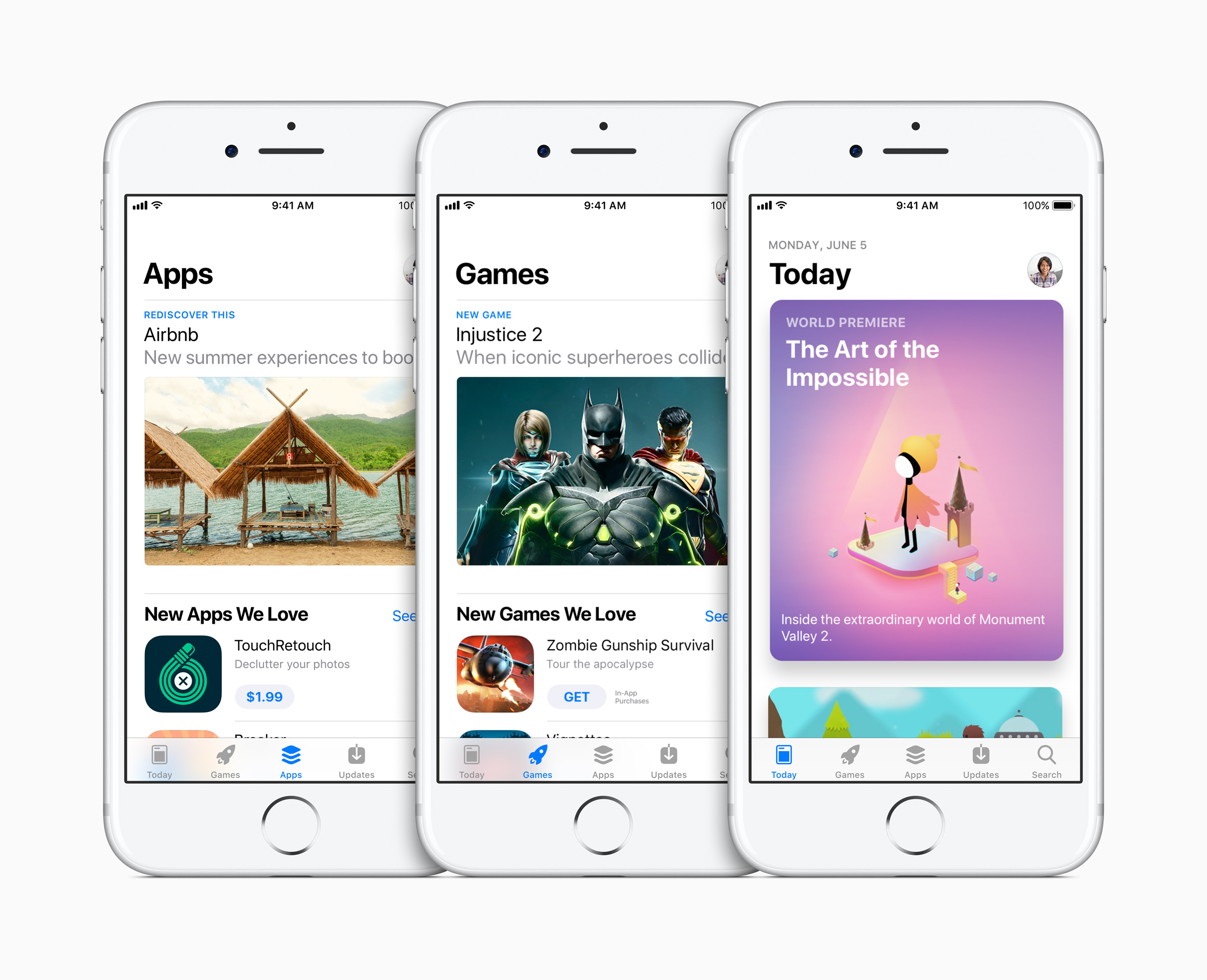 Apple announces completely redesigned App Store