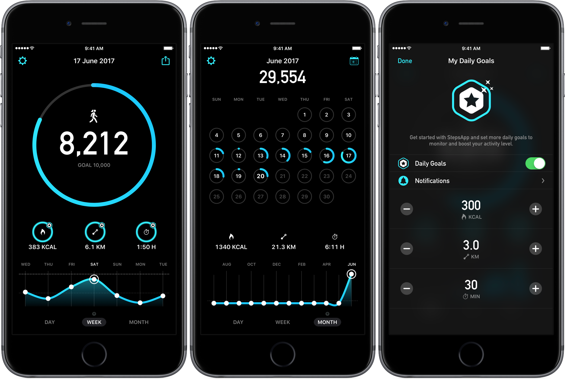 App to track activity on iphone