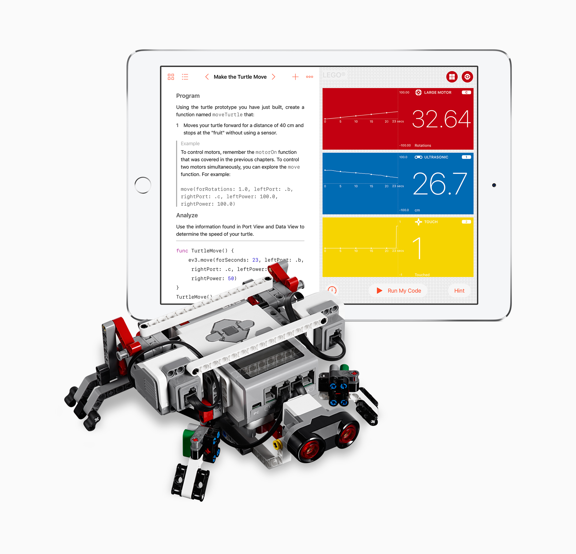 Apple updating Swift Playgrounds with support for robots