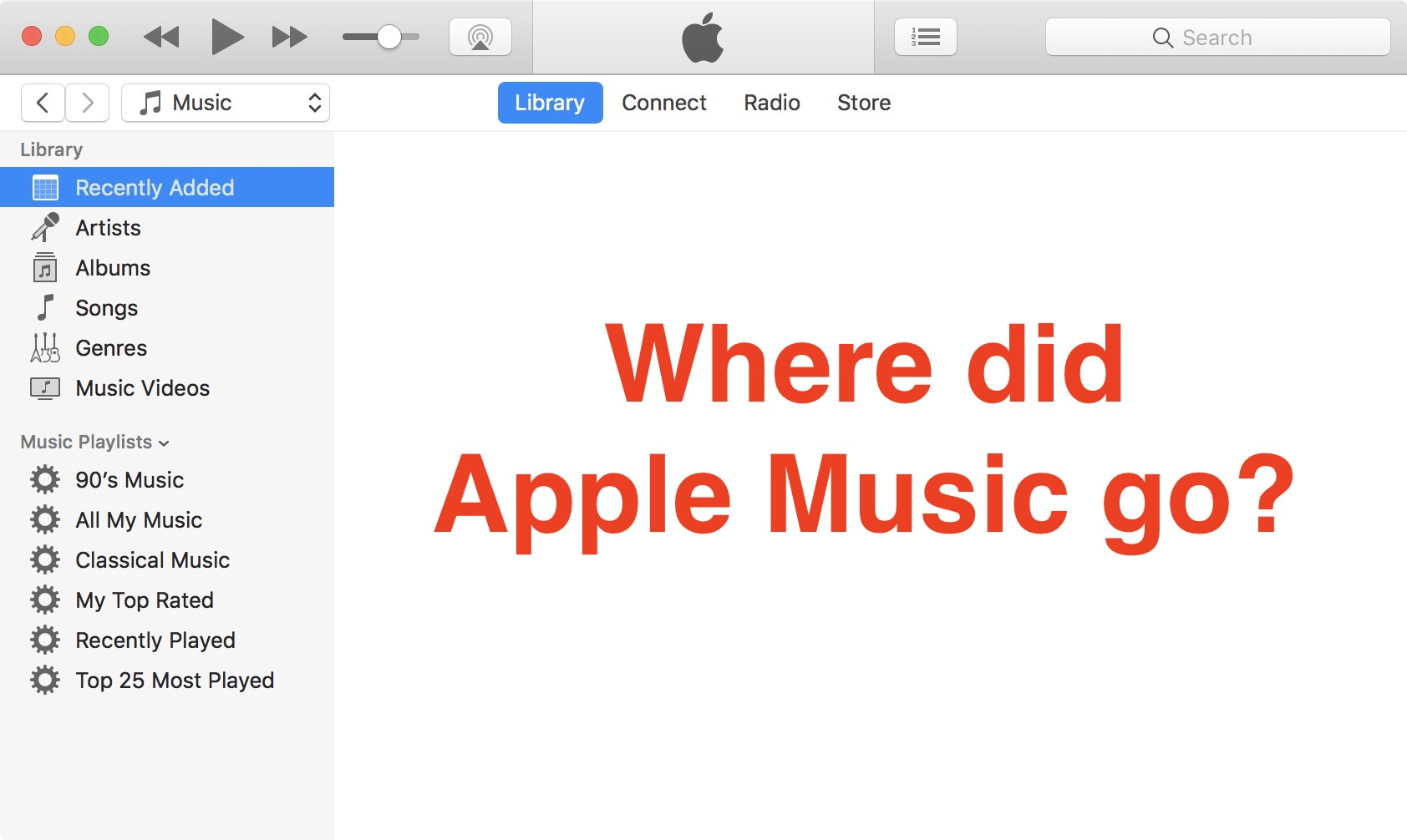 Fix: Apple Music not showing up in iTunes