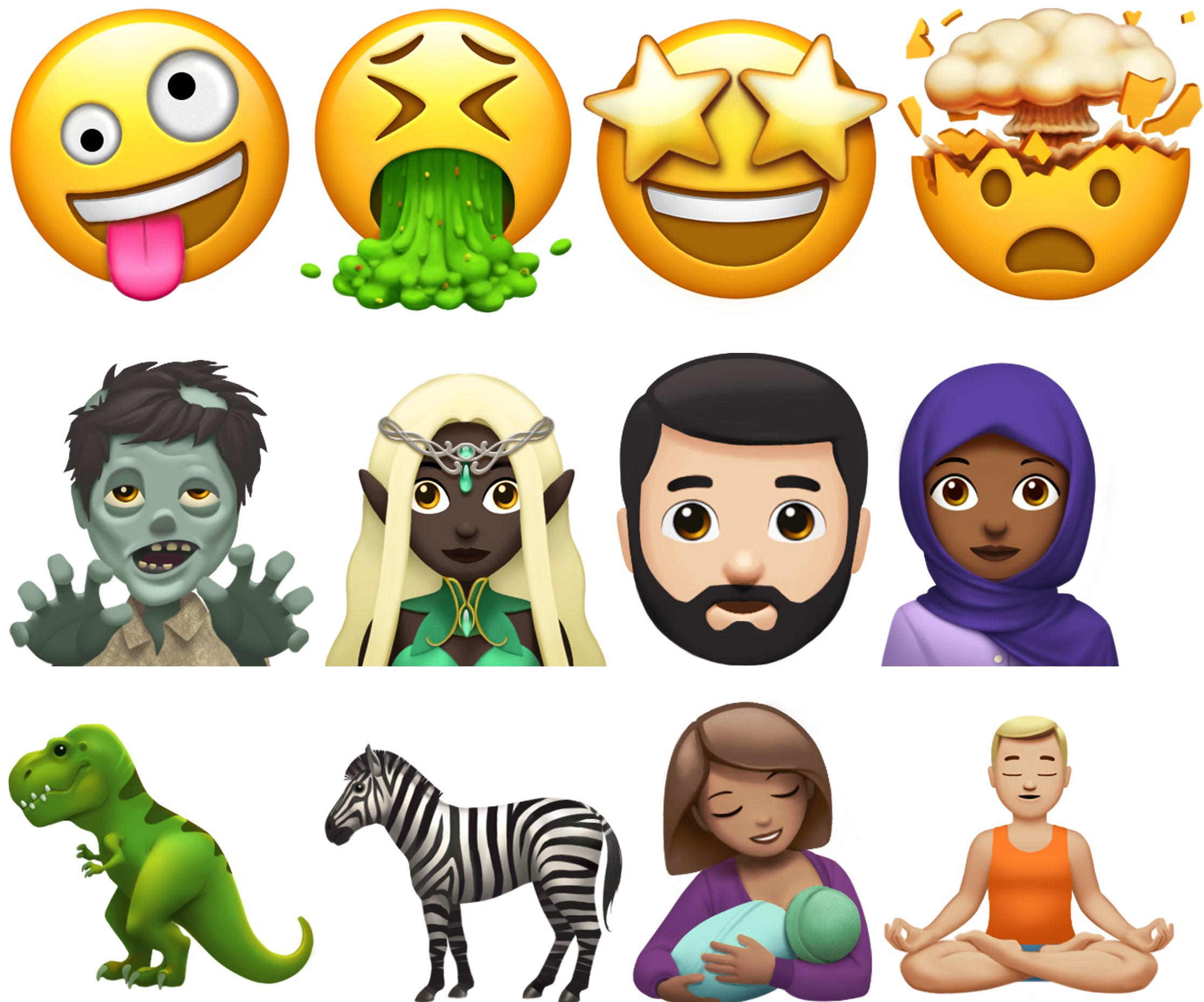 Here are some of new emoji coming to iPhone, iPad, Mac and
