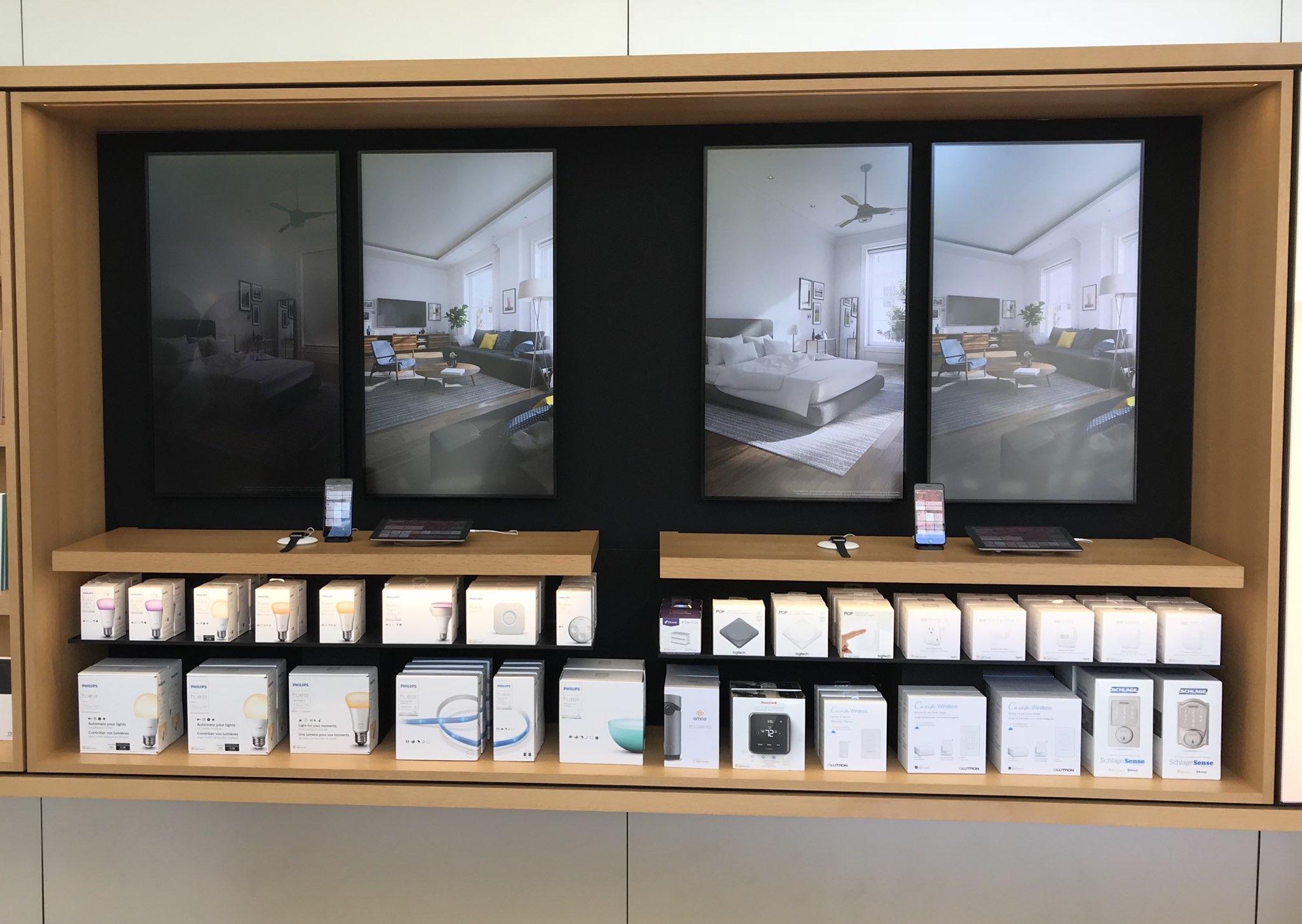 Interactive Homekit Demos Hit Apple Stores