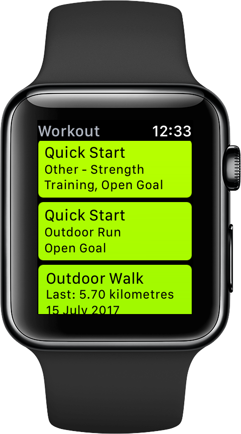 How to segment your Apple Watch workout mid session