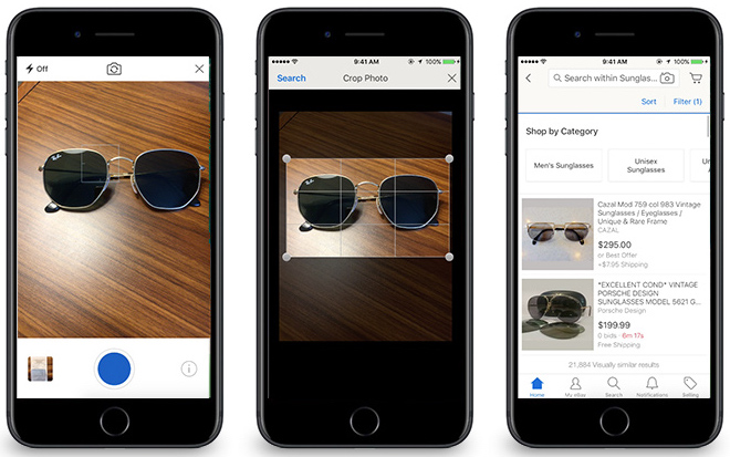Image search and discovery coming to eBay's iOS app this fall