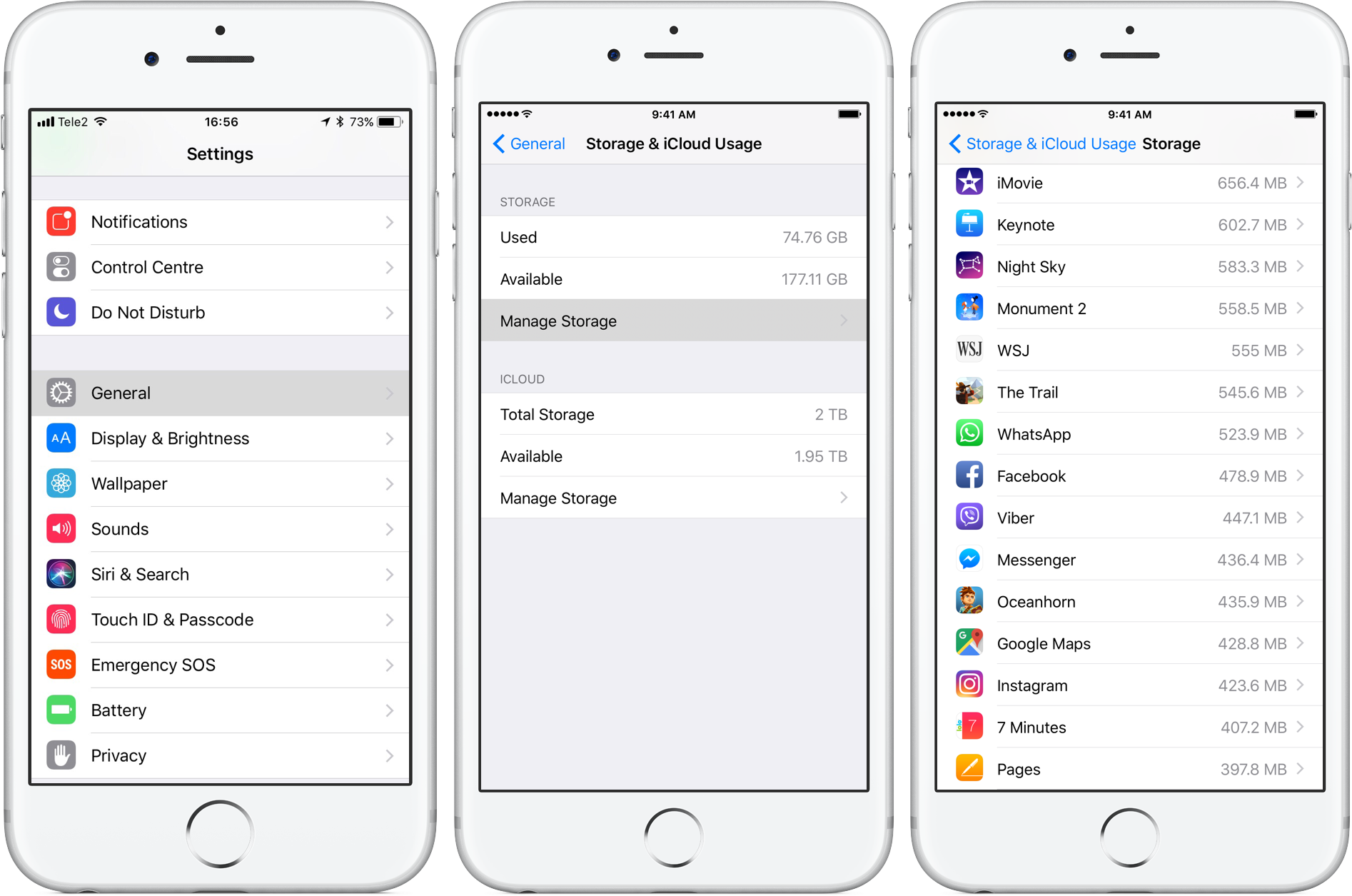 How To Check How Much Storage Apps And Their Data Are