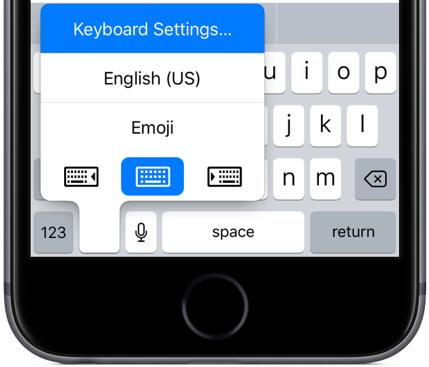 How to use one-handed keyboard mode on iPhone