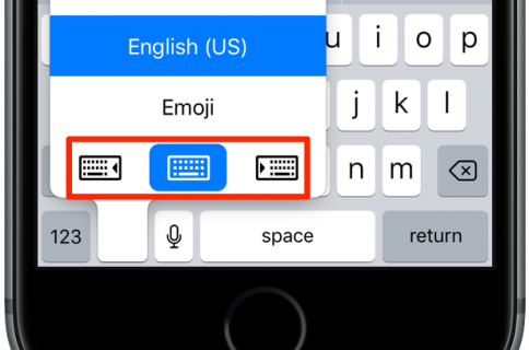 How to change iPhone keyboard layout