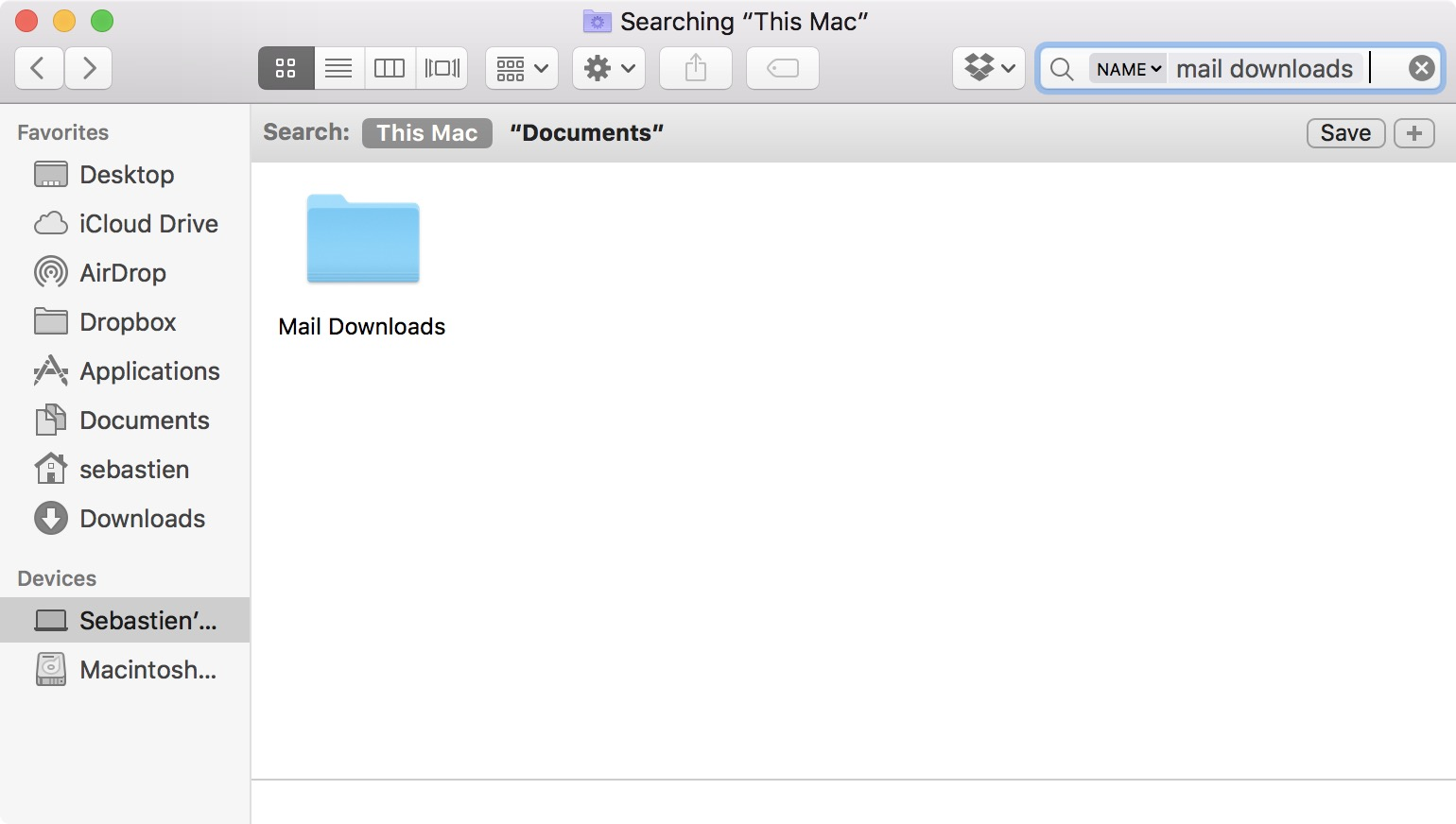 mac mail open attachment default