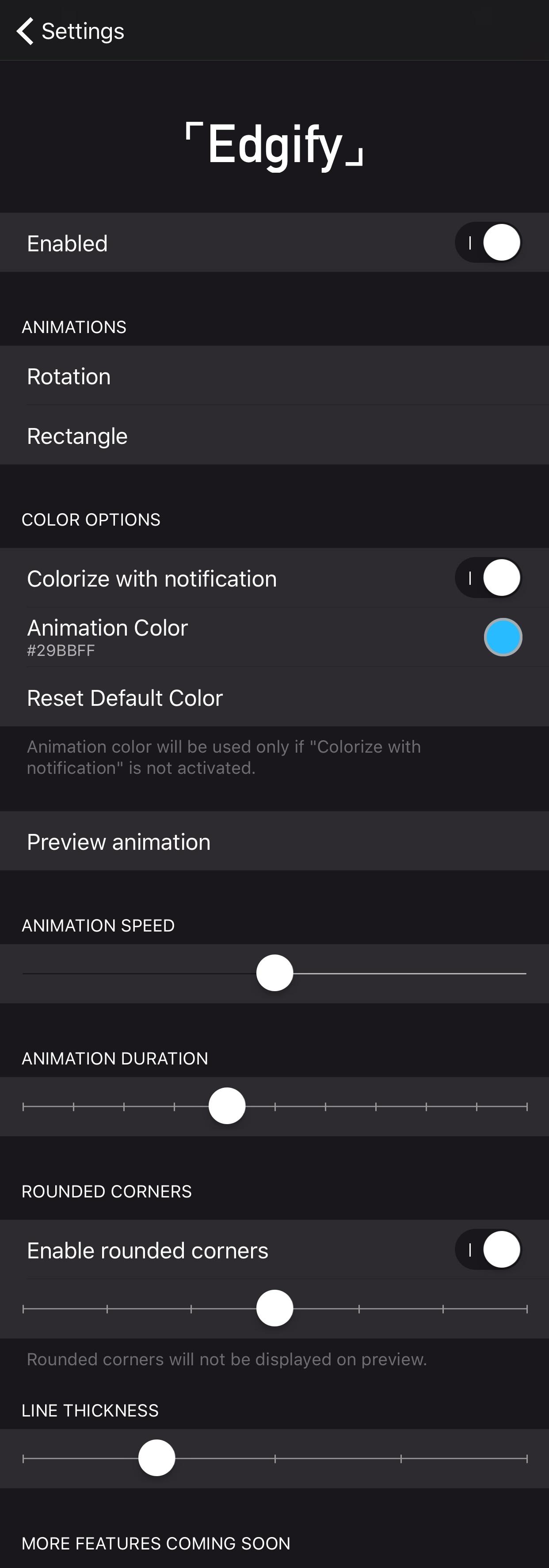 Edgify: another tweak that brings Galaxy S8-inspired notification