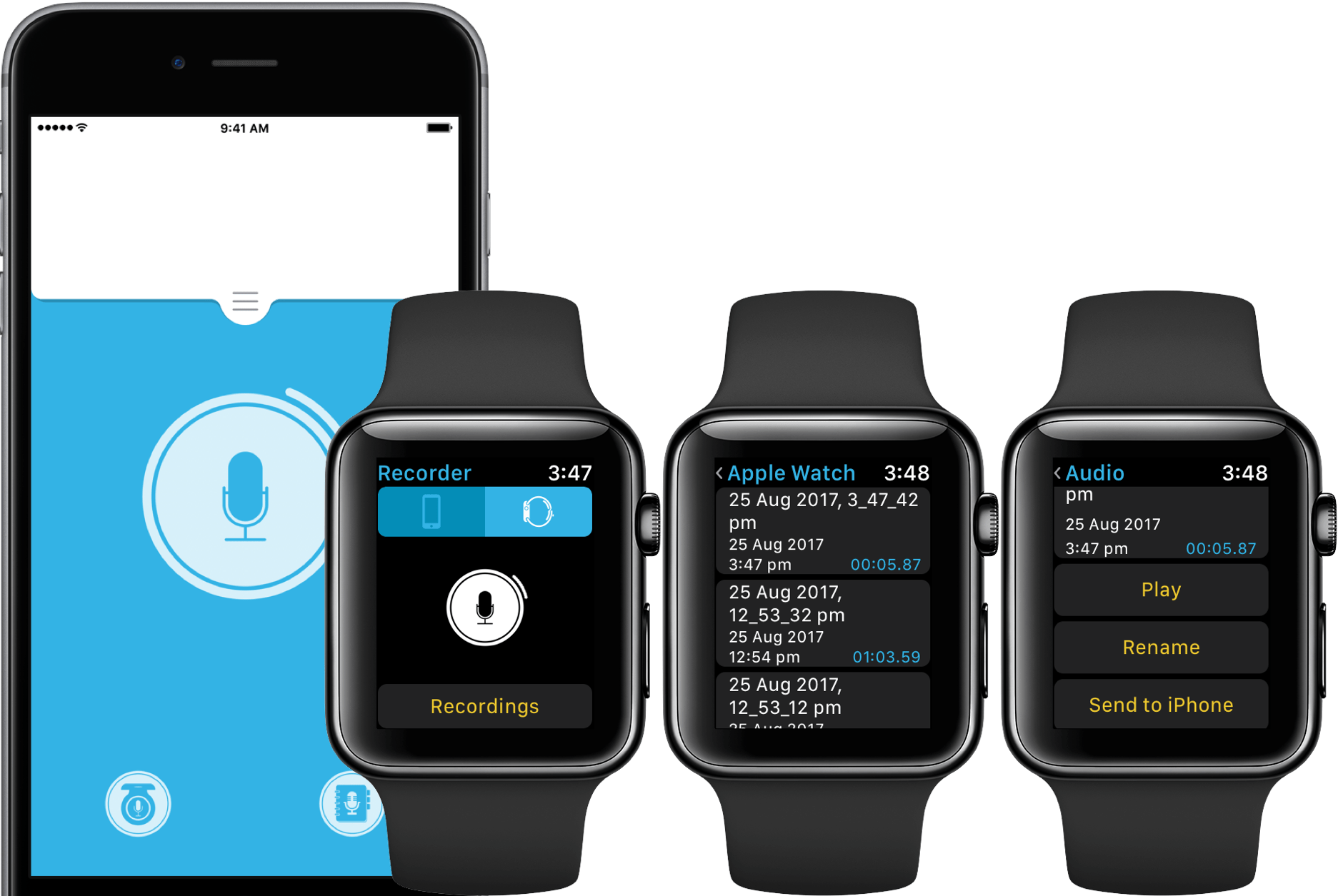 the best voice recording apps for apple watch