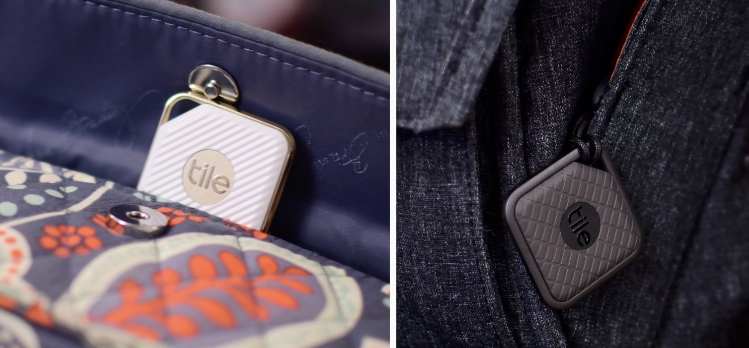 tile pro sport and style bluetooth trackers