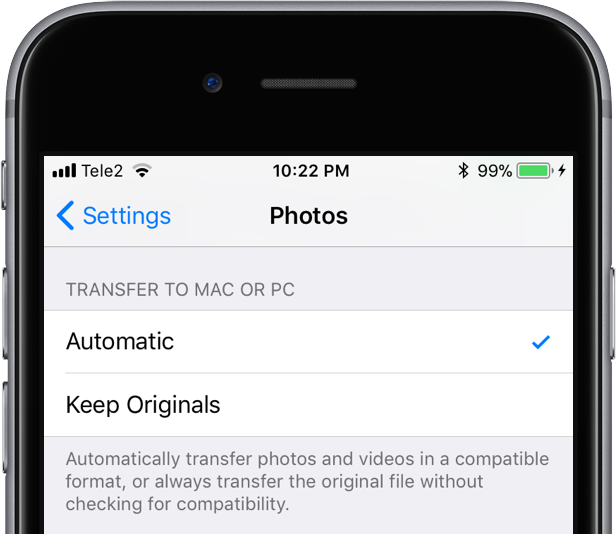 how to transfer photos from iphone 6 to mac desktop