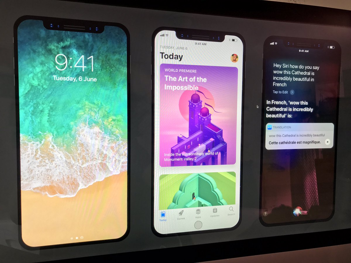 Here's how your favorite apps might embrace iPhone 8's notch