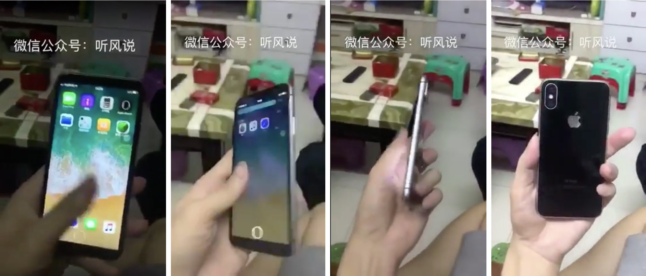 Check out this short video of a working iPhone 8 clone from