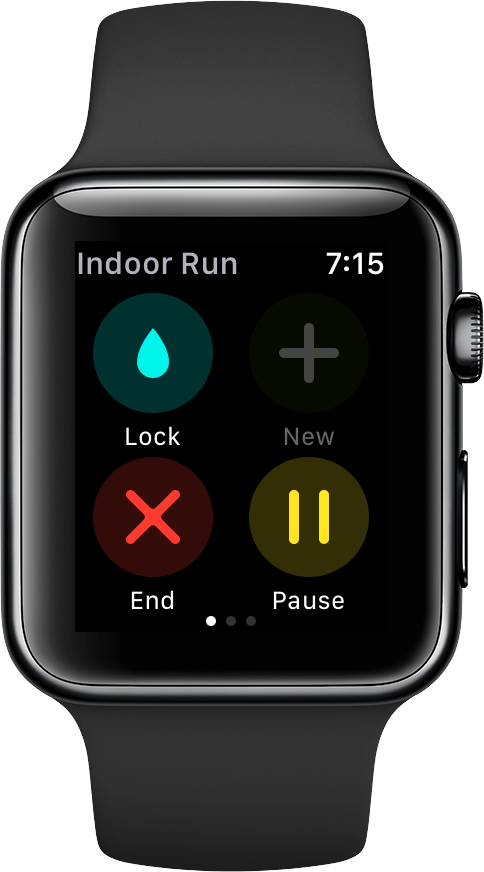 end workout on Apple Watch