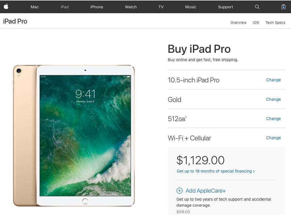 Rising Flash Storage Costs Prompt Apple To Hike 256 512gb Ipad Pro