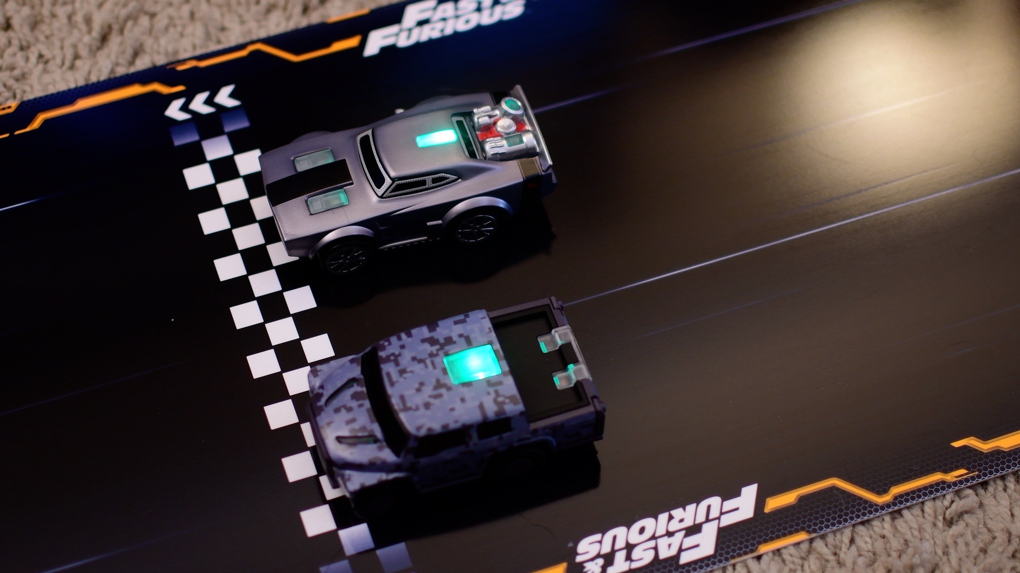 blow your opponent off the road vin diesel style with the anki overdrive fast furious edition. Black Bedroom Furniture Sets. Home Design Ideas