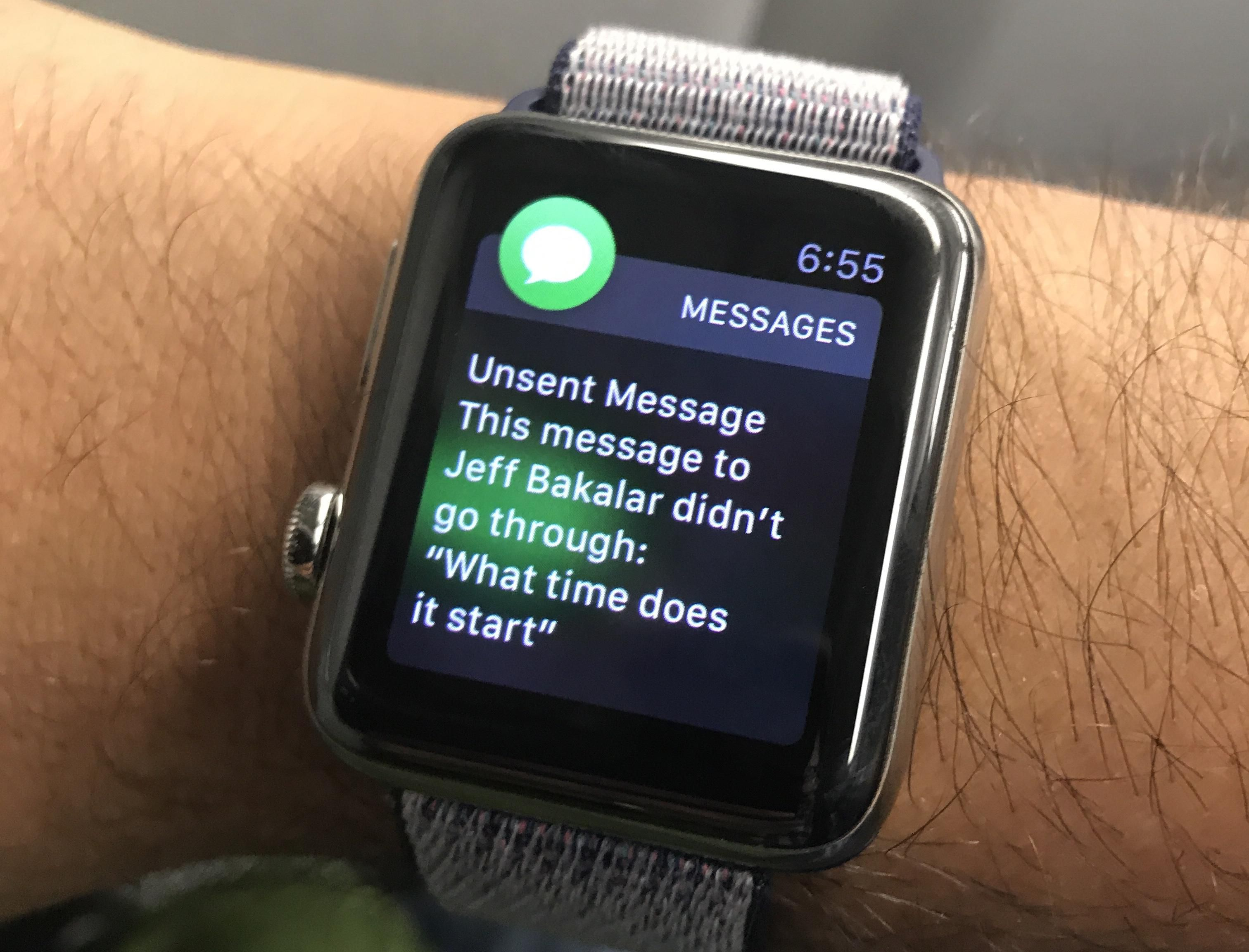 using lte apple watch on its own for smsmms phone calls notifications