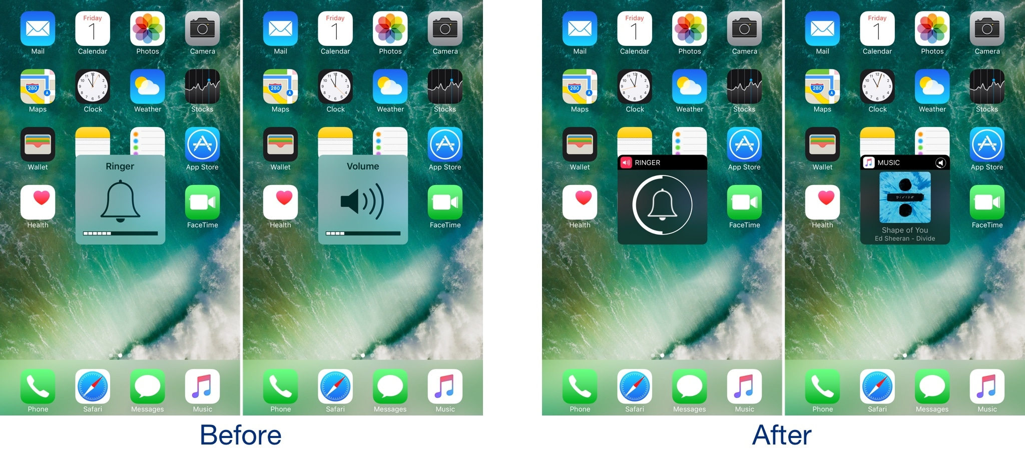 Castro gives the iOS volume HUD a much-needed facelift