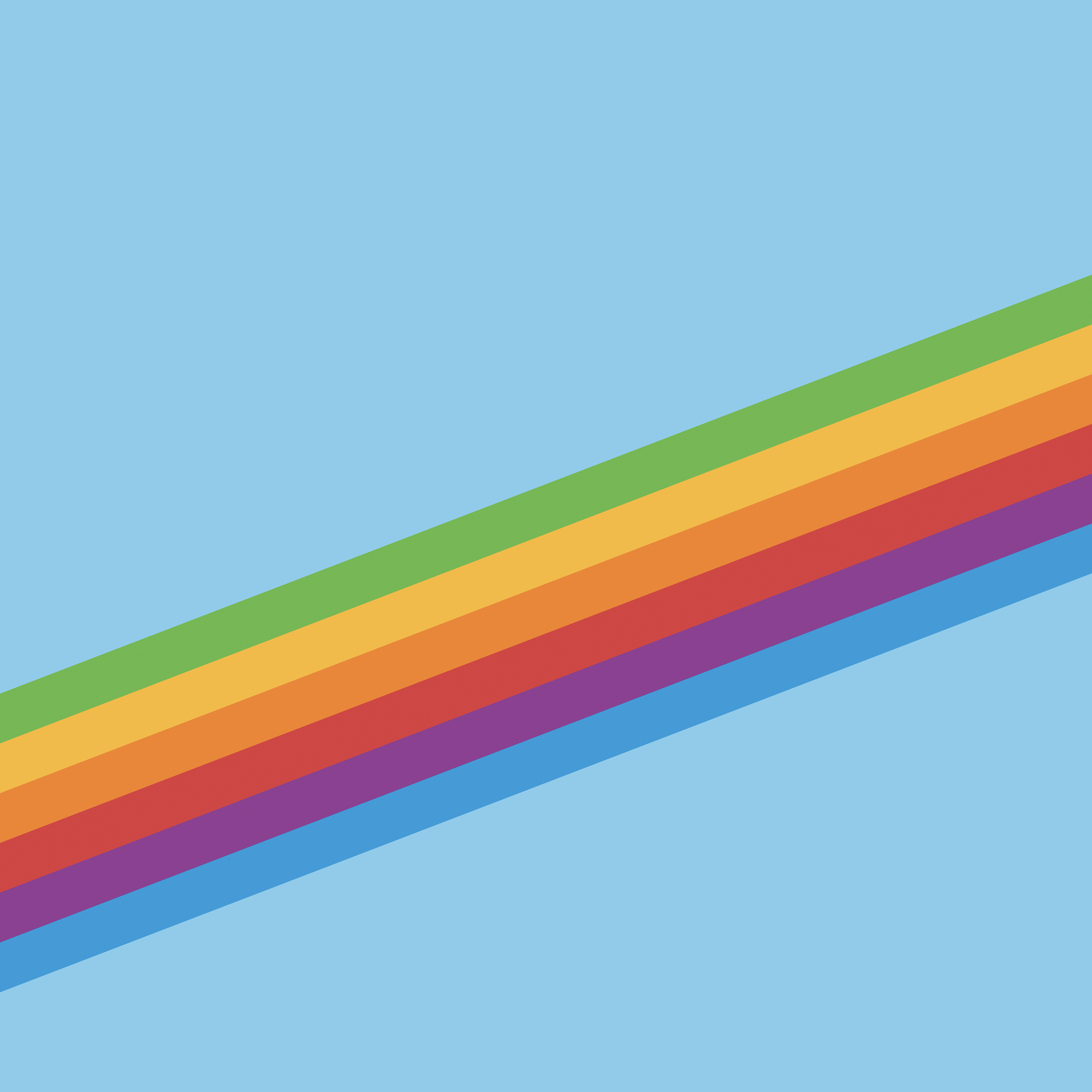 Download the new ios 11 wallpapers for Rainbow color stripe watch