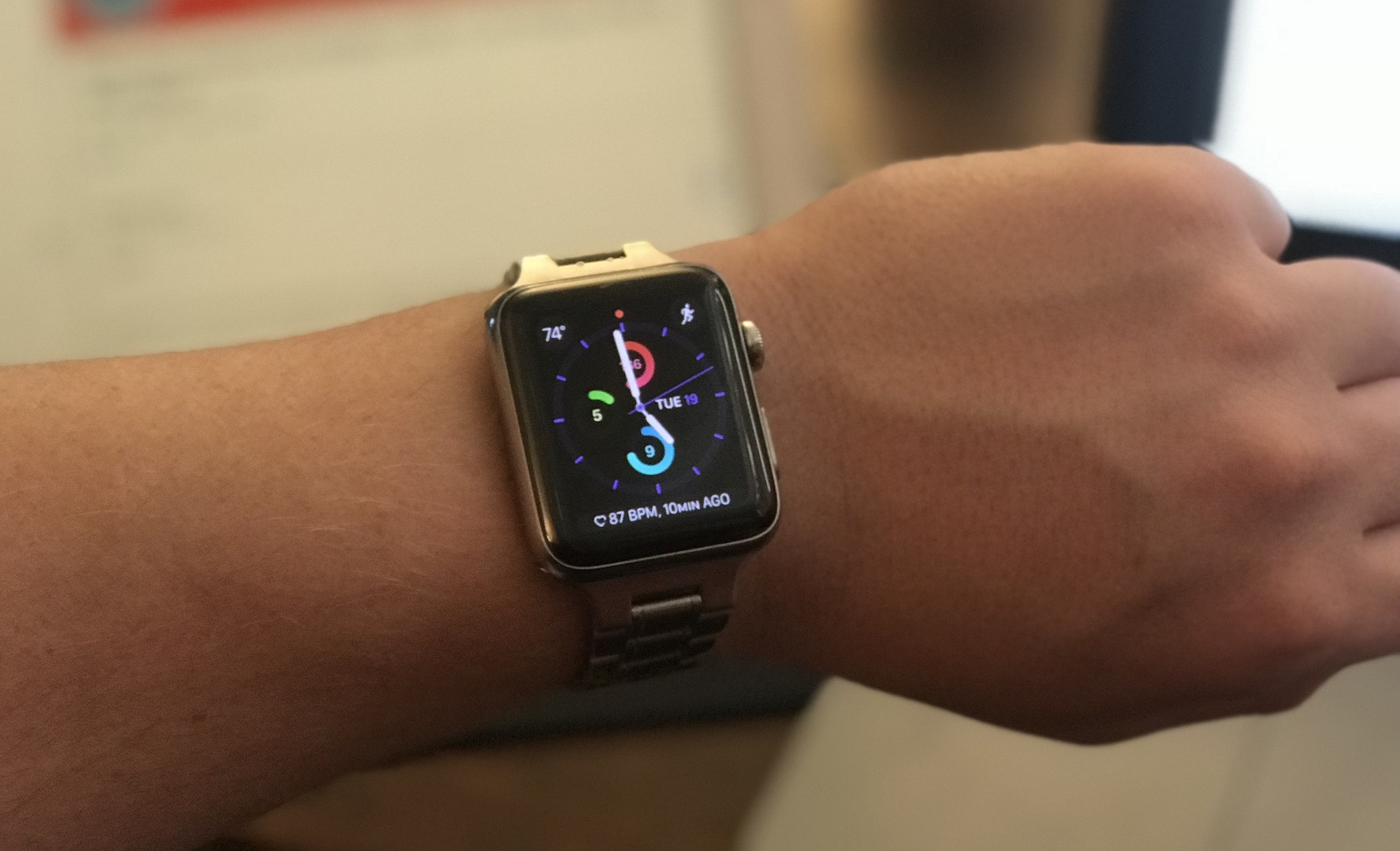 Apple Watch complications watch face