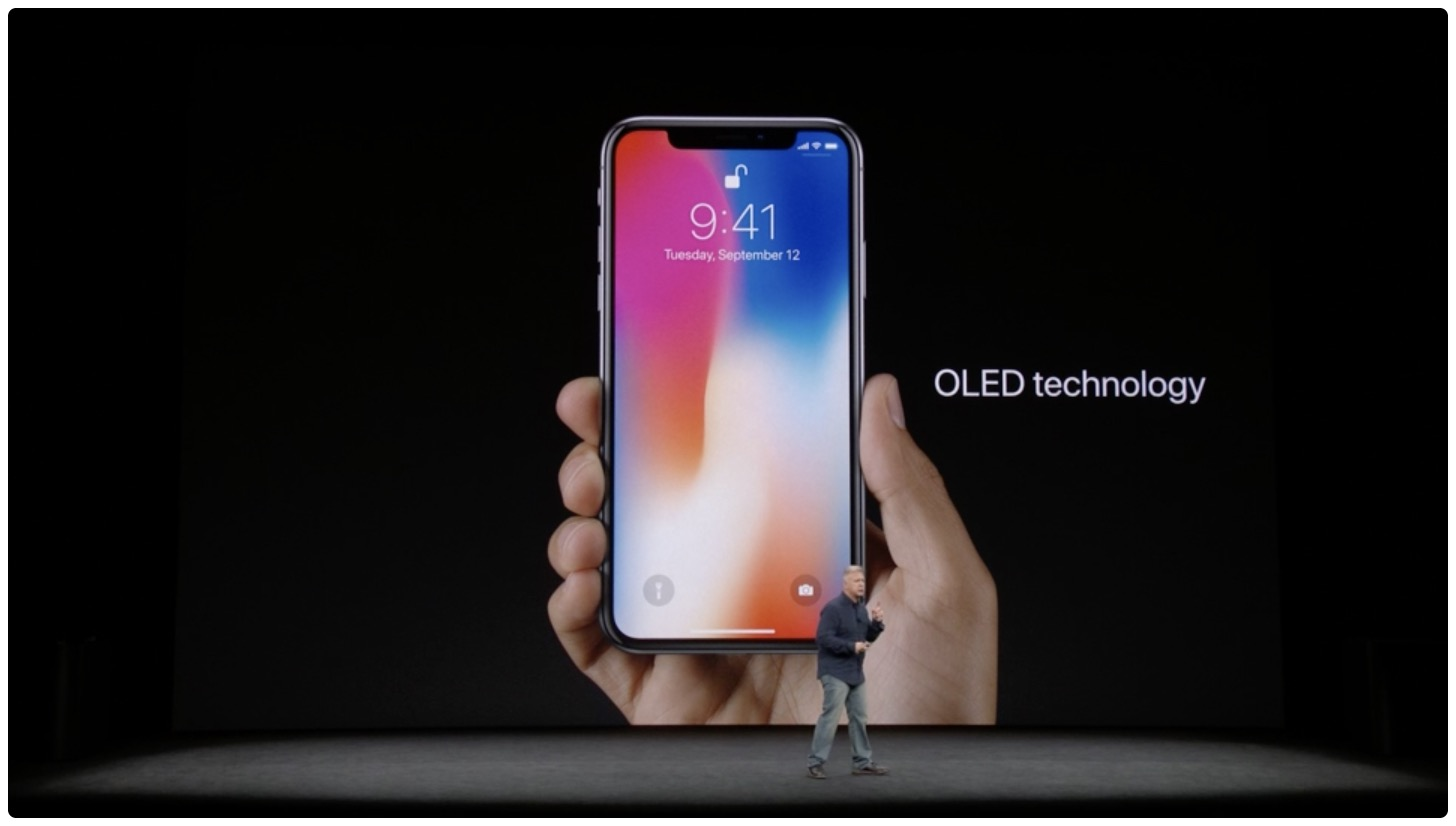 Apple acknowledges iPhone X OLED burn-in & off-angle color shift