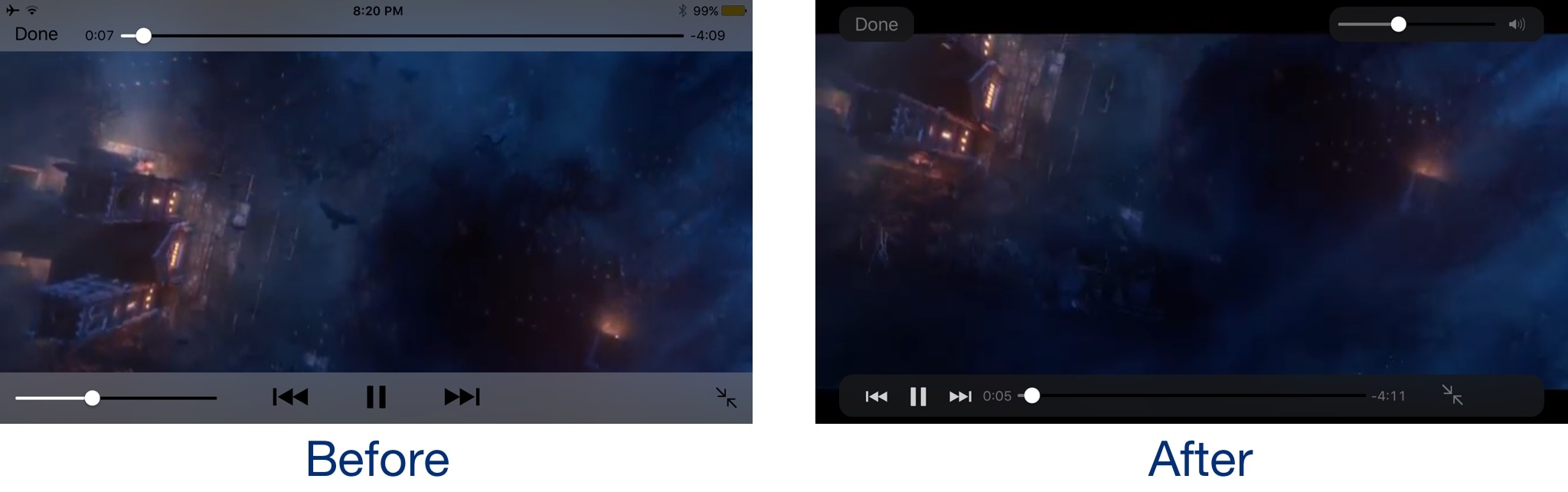 VideoPlayerXI brings an iOS 11-inspired video player to ...