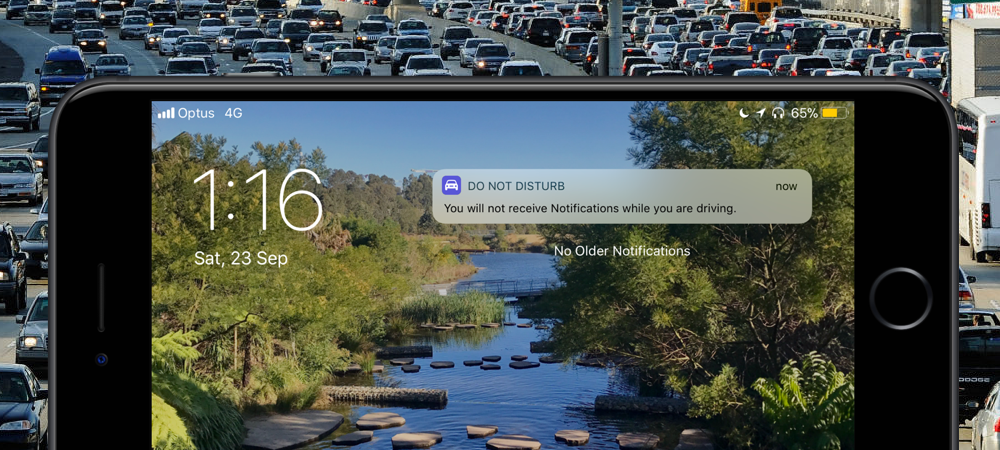 How to customize 'Do Not Disturb While Driving' response on iPhone